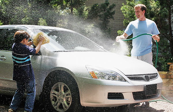 Using Best Pressure Washer Convert Your Driveway Into A Car Wash