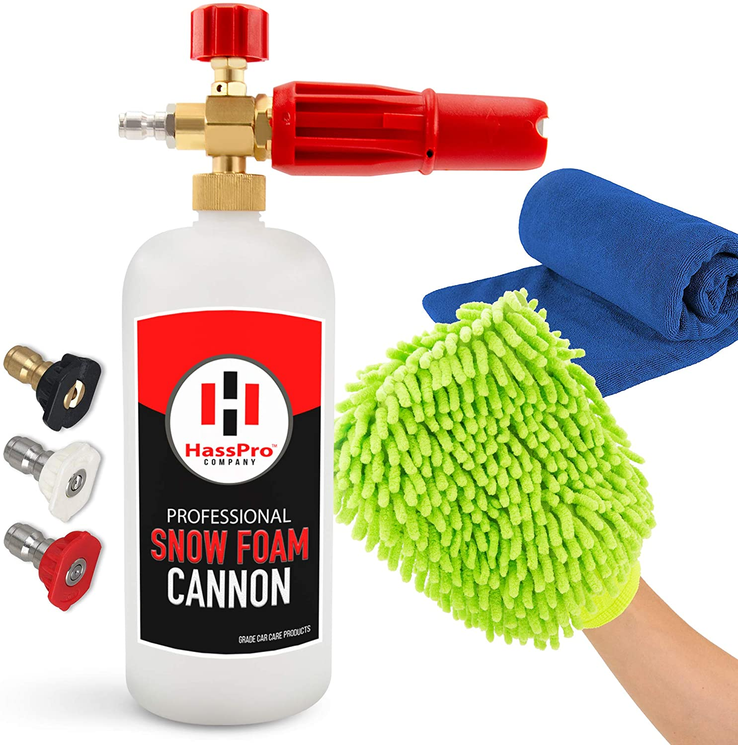HassPro Premium Quality 1LT Bottle Foam Cannon