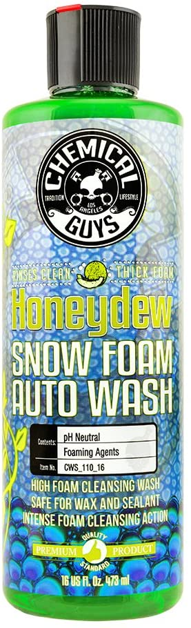 Honeydew Snow Foam Car Wash Soap and Cleanser