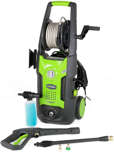 greenworks 1700 pressure washer