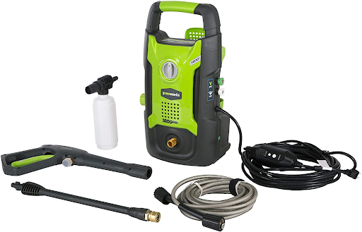 greenworks 1600 pressure washer