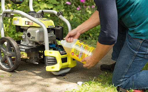 detergents for pressure washer